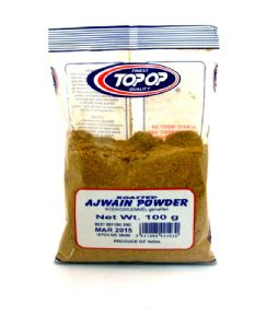 Ajwain Powder [Roasted Ground Ajowan, Carom, Lovage Seeds] | Buy online at The Asian Cookshop